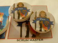 Scrum Master avatar op het scrumbord