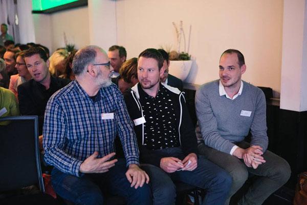 Met collega's bij Scrum Event 2016