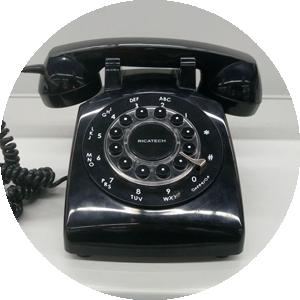 Geen smartphone maar deze ouderwetse telefoon