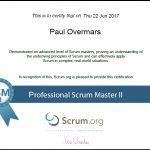 Professional Scrum Master II