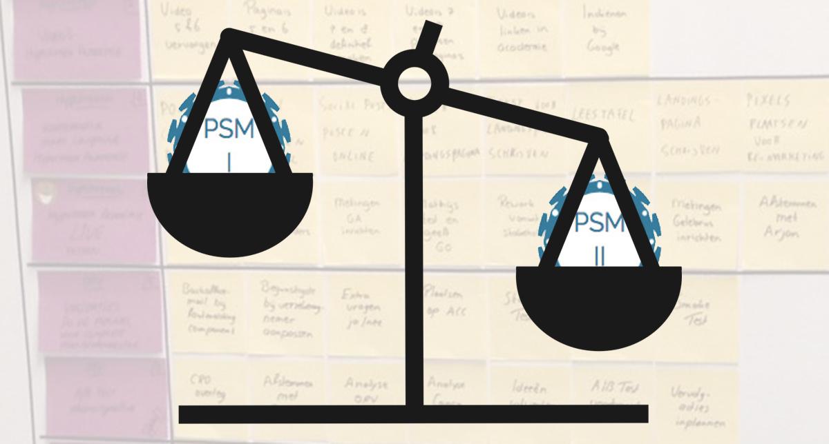 Verschillen tussen PSM-I en PSM-II
