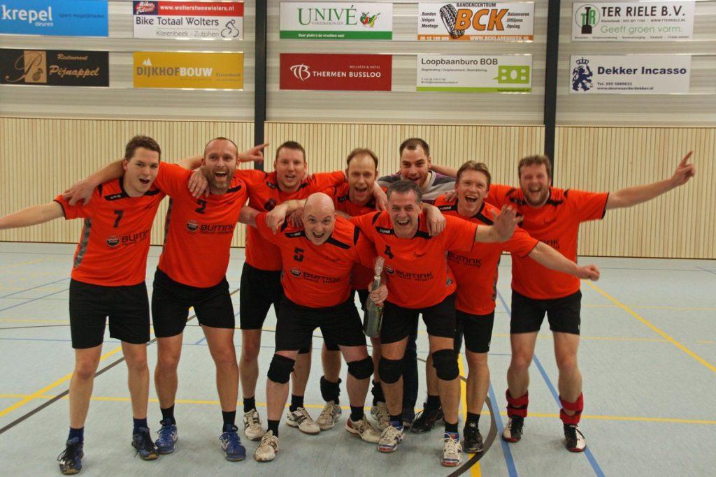 Voorwaarts Heren 3 kampioen in de Derde Klasse.