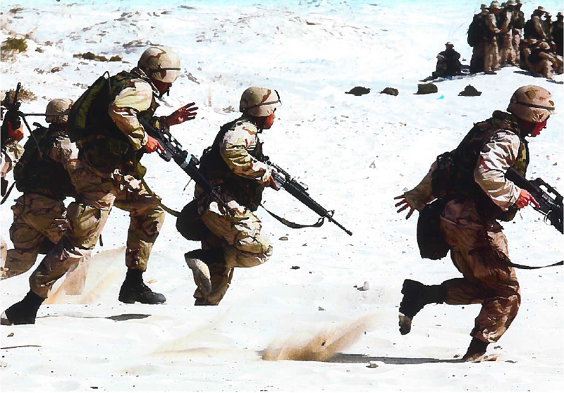 Scrumteams en Special Forces met gezamenlijke missie