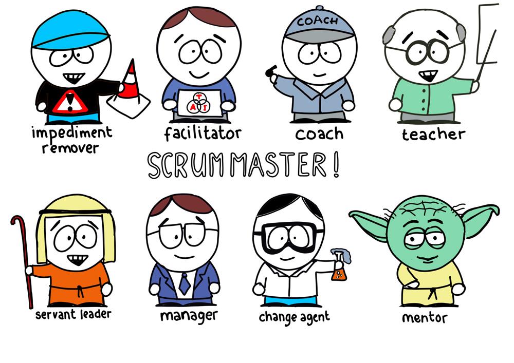 De rol van Scrum Master