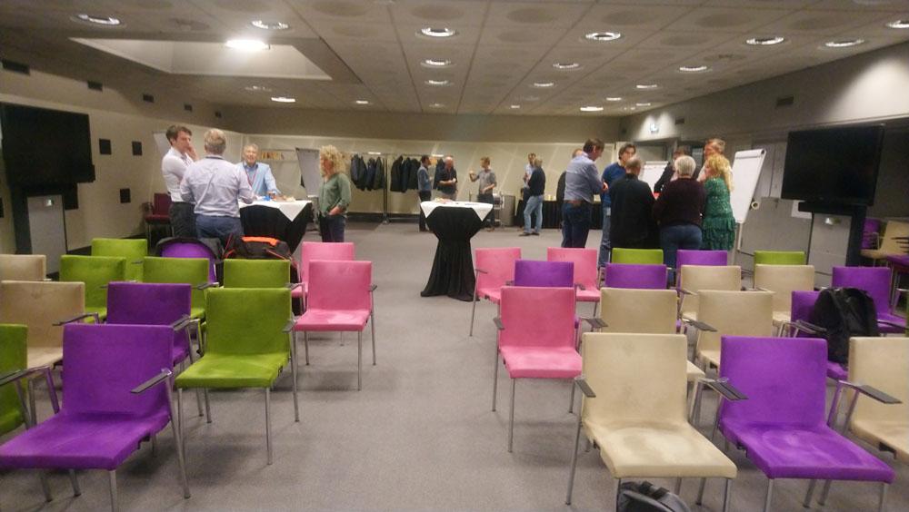 Groepen Scrum Masters Agile Coaches bespreken onderwerpen