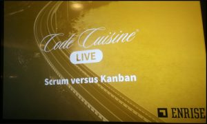 Code Cuisine Live over Agile Organisation
