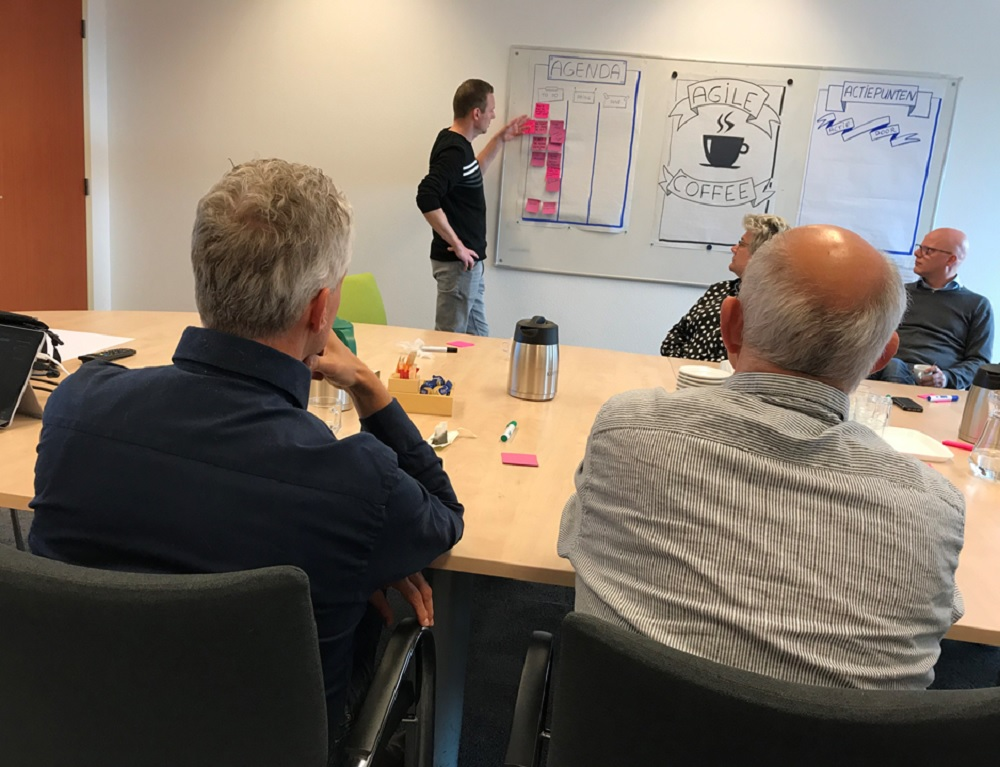Een meeting als Agile Coffee