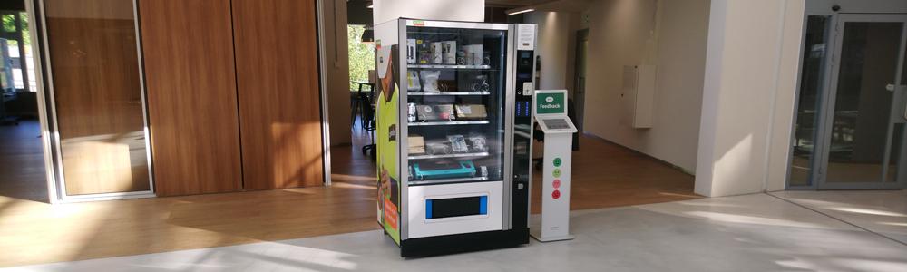 Automaat bij Alliander