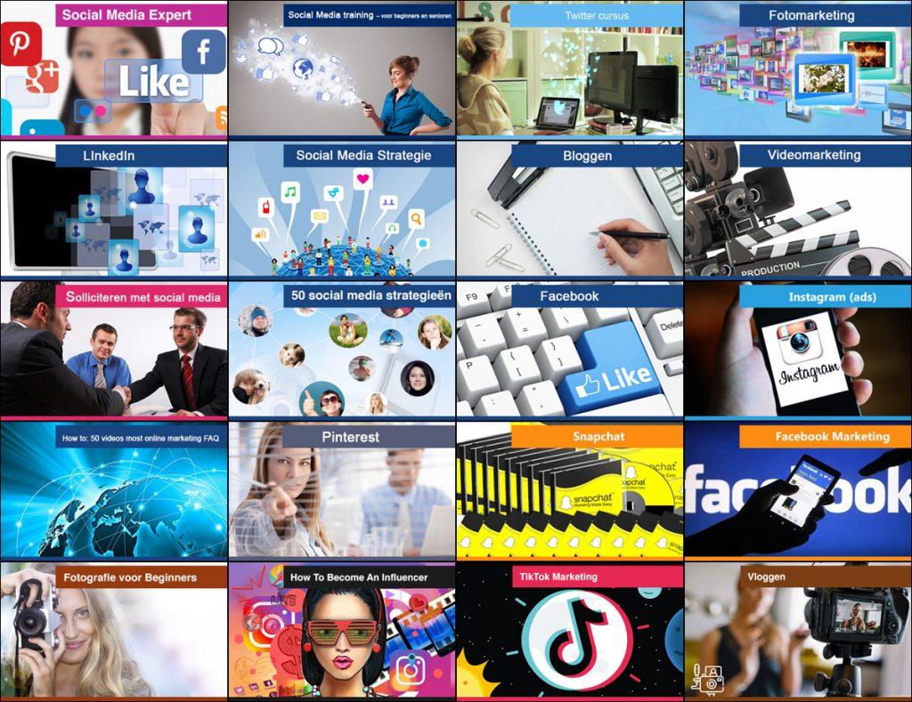 Social media expert cursus onderwerpen